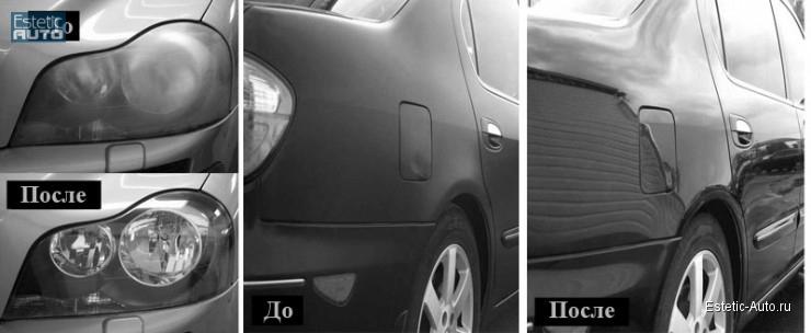 Полировка авто в Челябинске
