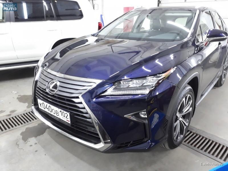 Бронирование Lexus пленкой