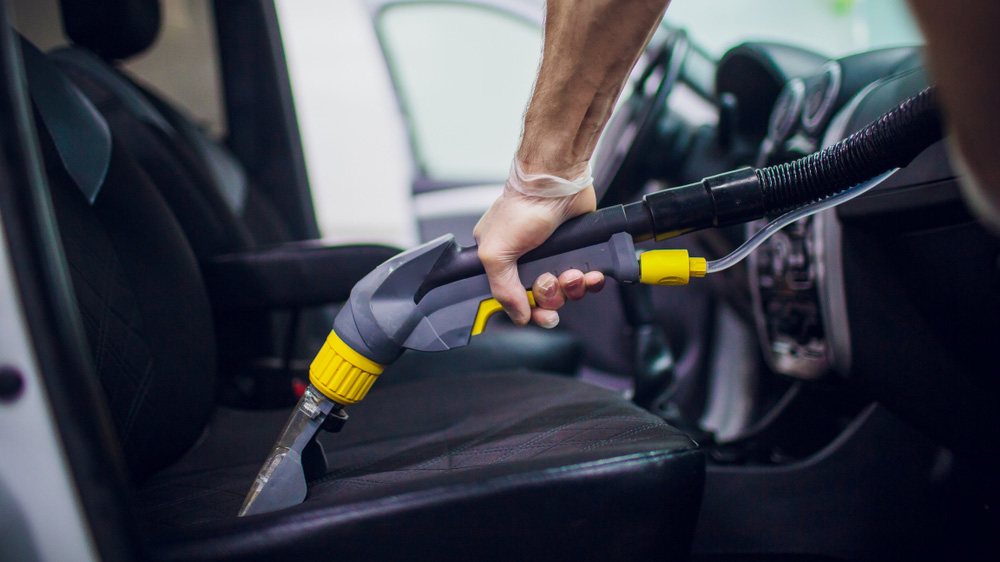Химчистка авто без химии